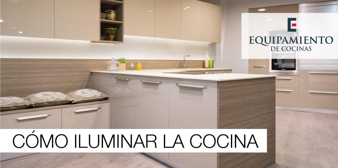 C mo iluminar la cocina equipamiento de cocinas - Como iluminar una cocina ...